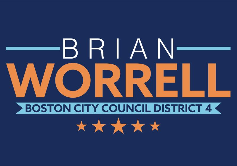 Vote For Brian Worrell Logo